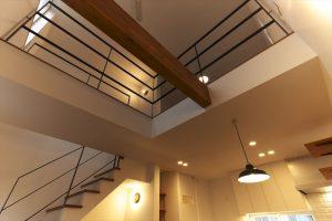 東京,吹き抜け,狭小住宅,三階建て,注文住宅,SE構法