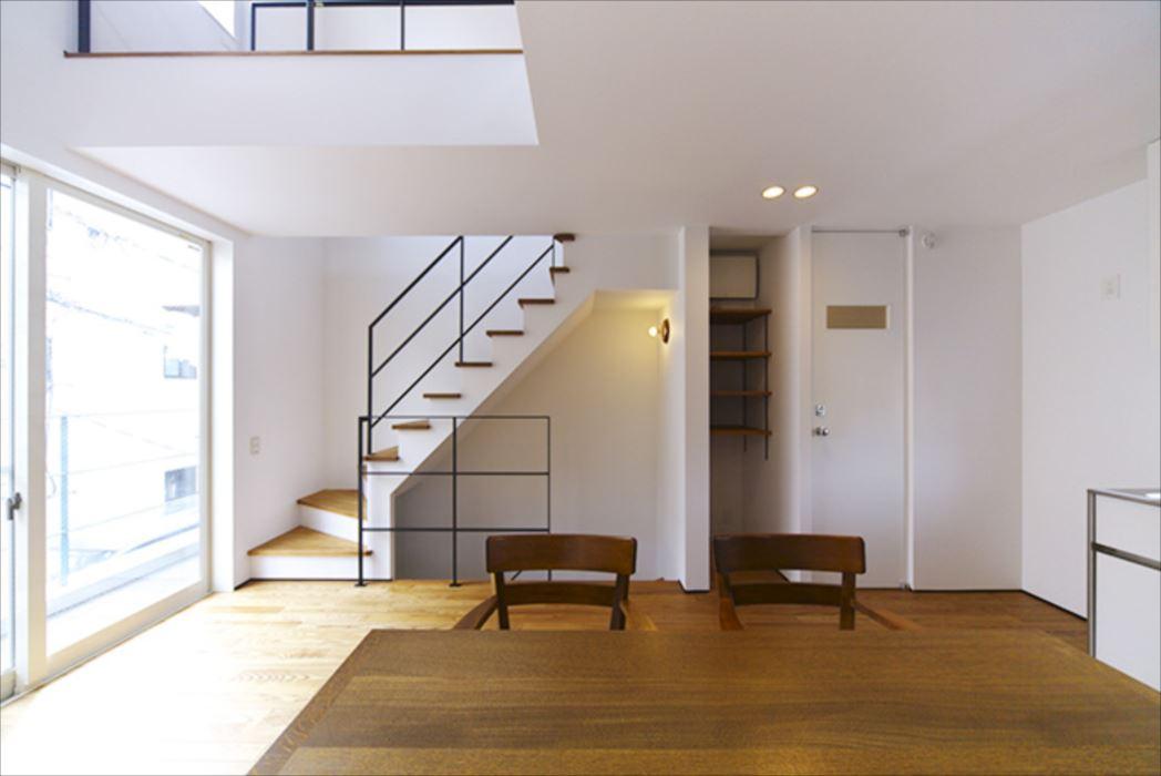 アメリカンな家,狭小住宅,東京,SE構法