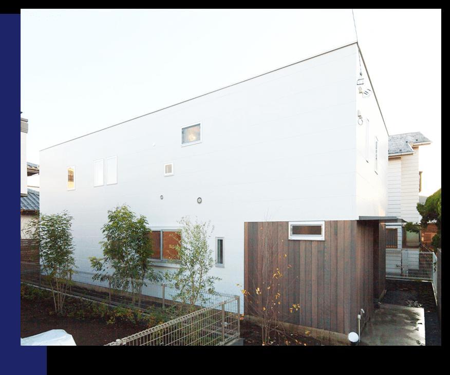 緑が癒しを与えてくれる住宅