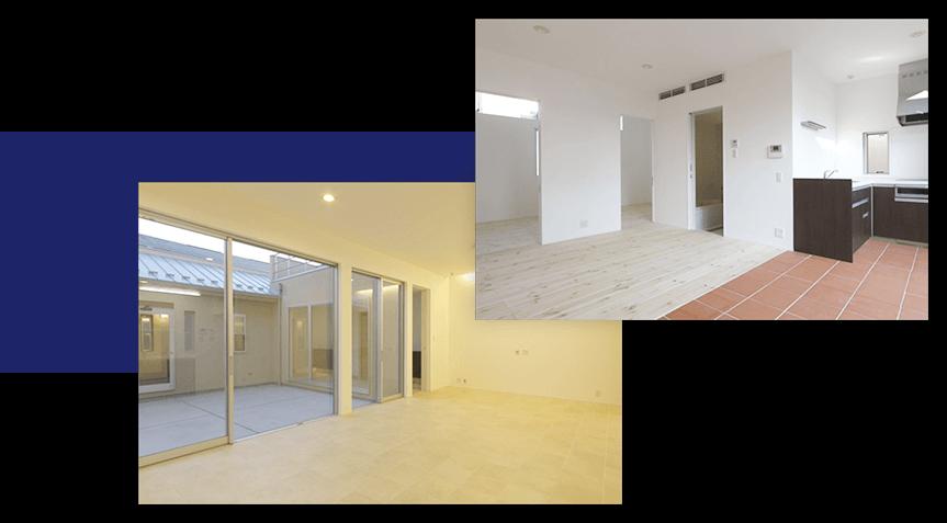 広々リビング空間を実現した住宅