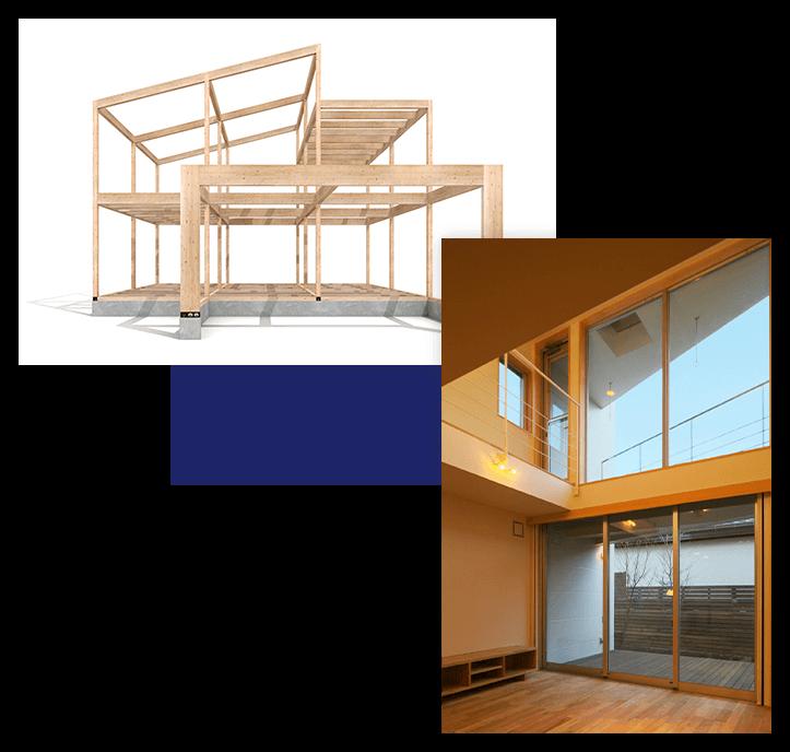 東京に建てる住宅の可能性を広げる三階建て住宅