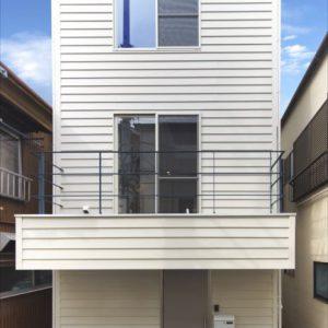 アメリカン好き狭小住宅