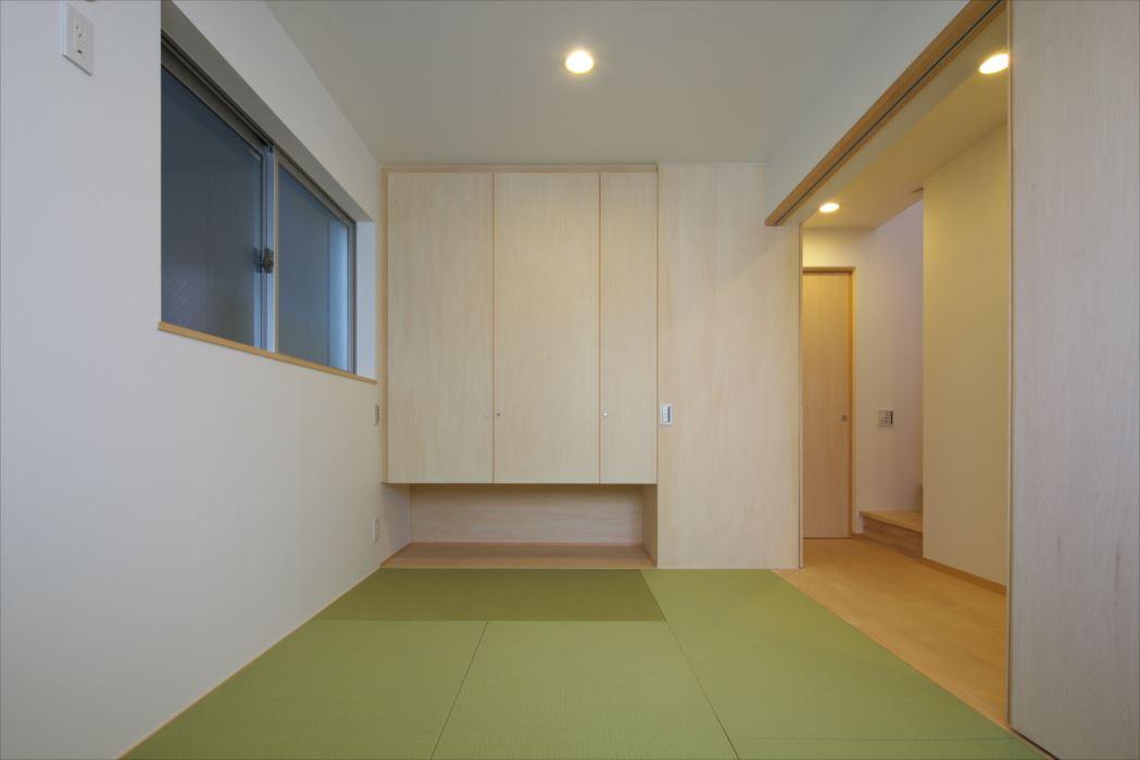 東京,狭小地,狭小住宅,二世帯住宅,和室
