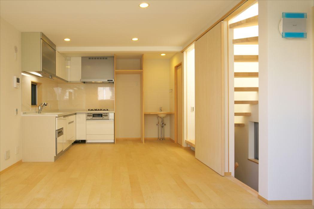 東京,狭小地,狭小住宅,二世帯住宅,天窓