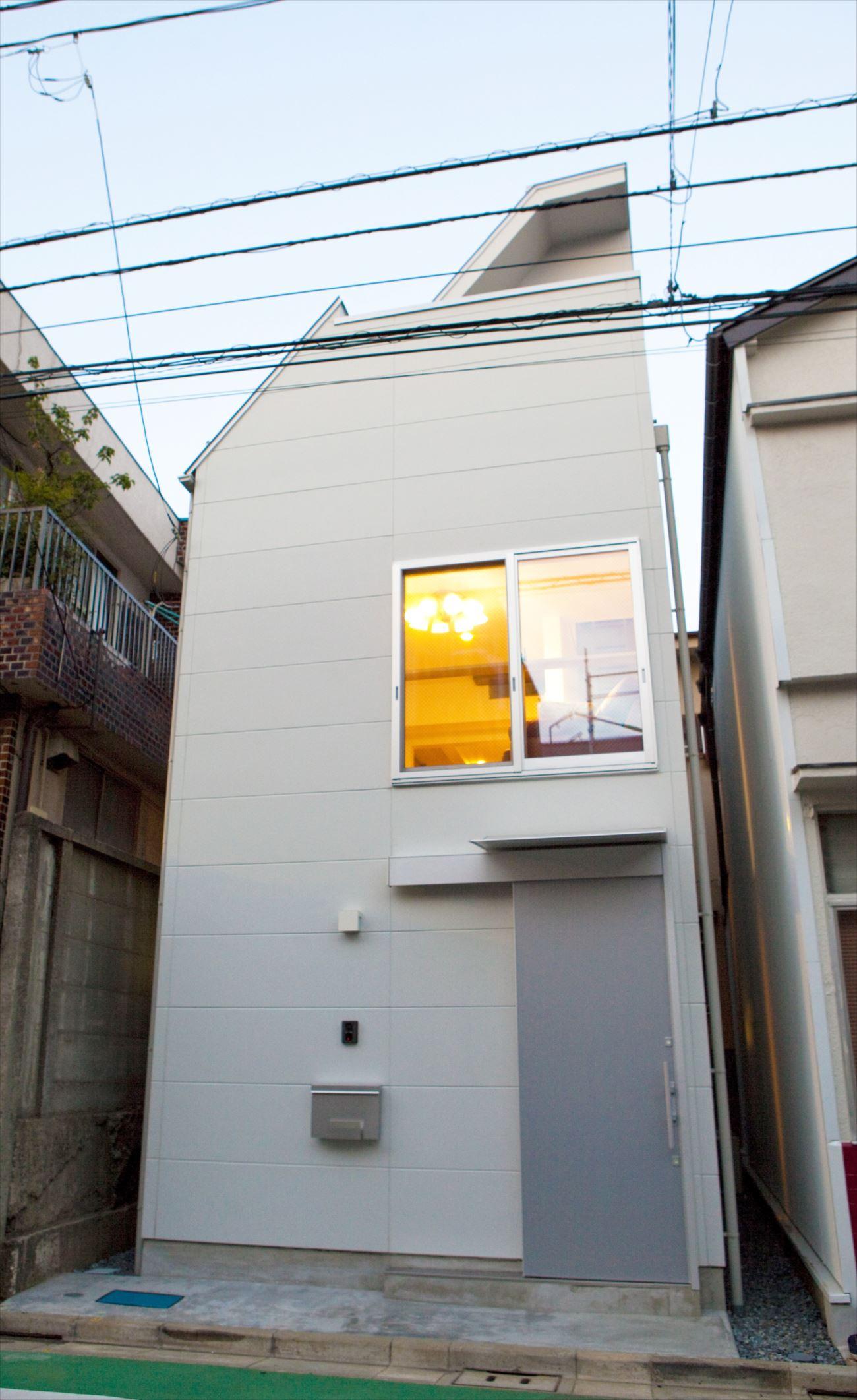東京,狭小地,狭小住宅,日当たり,風通し