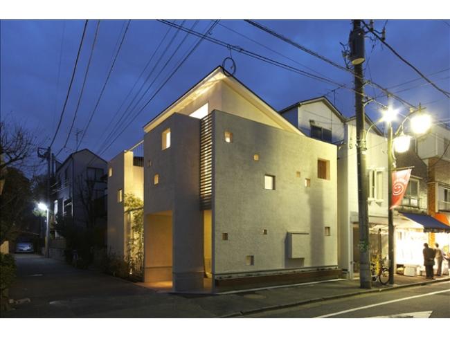 東京,狭小住宅,三階建て住宅