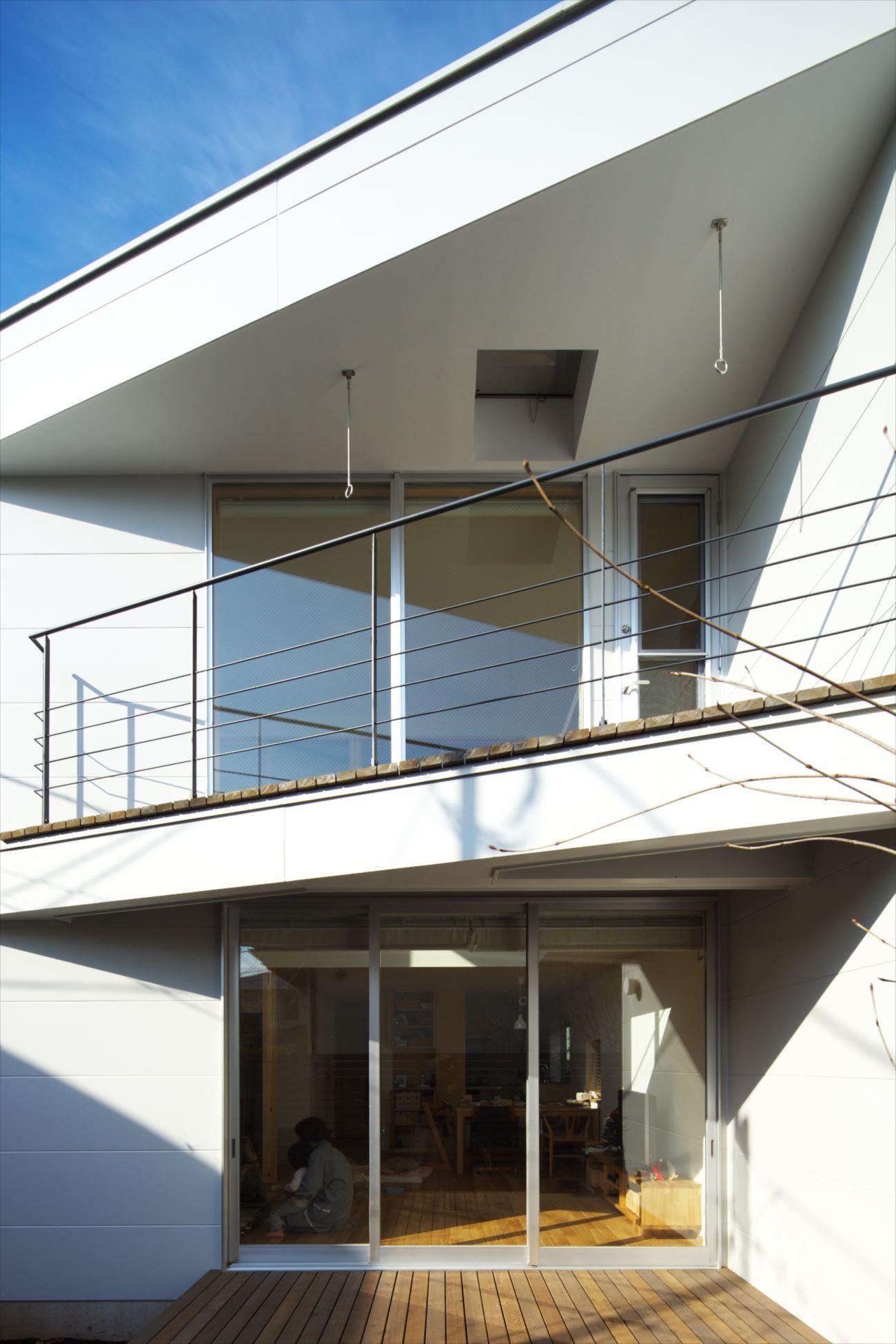 狭小住宅,東京,バルコニー
