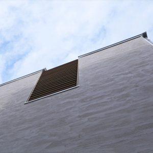 スカイバルコニーのあるRC外断熱の家