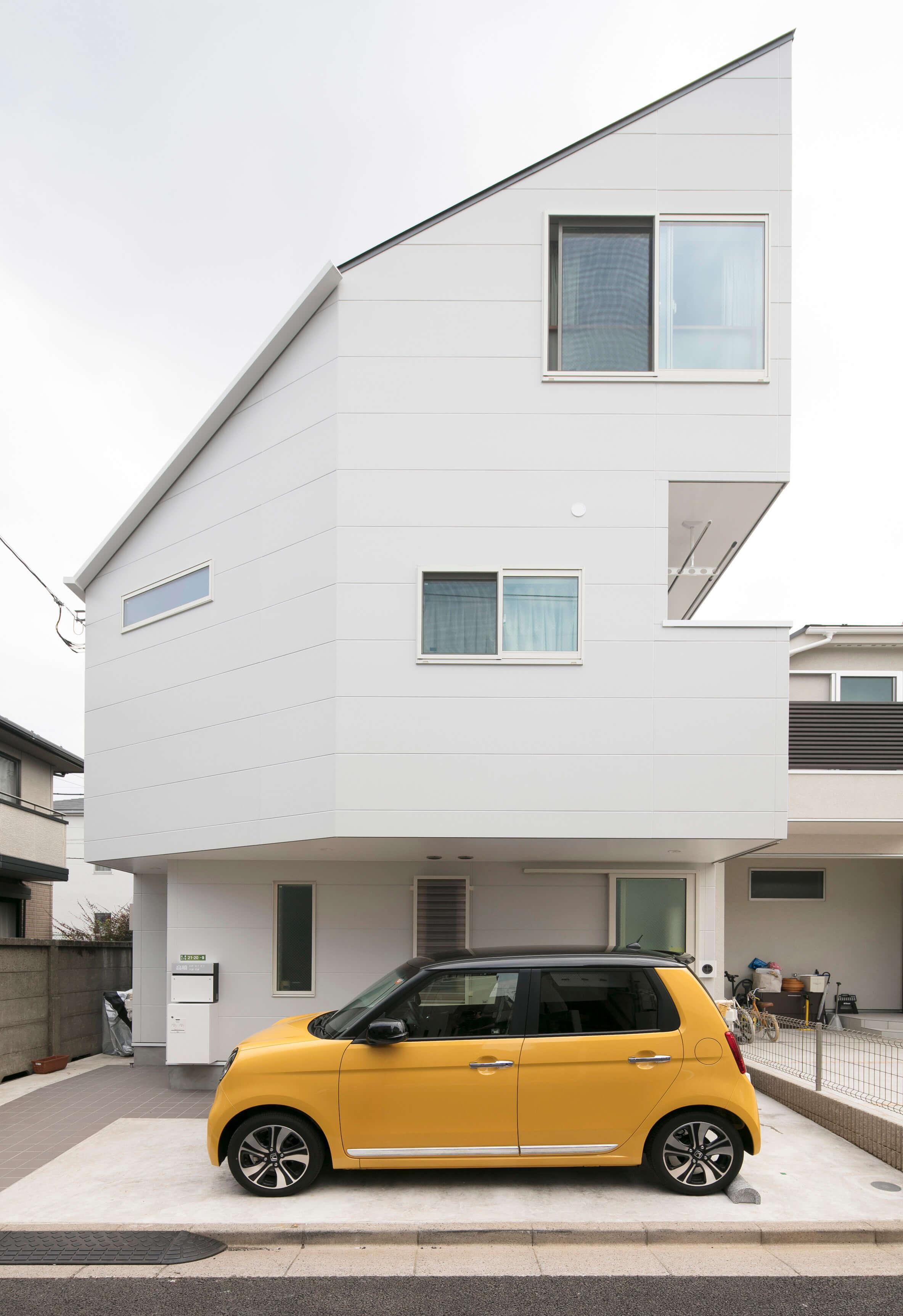 狭小二世帯住宅