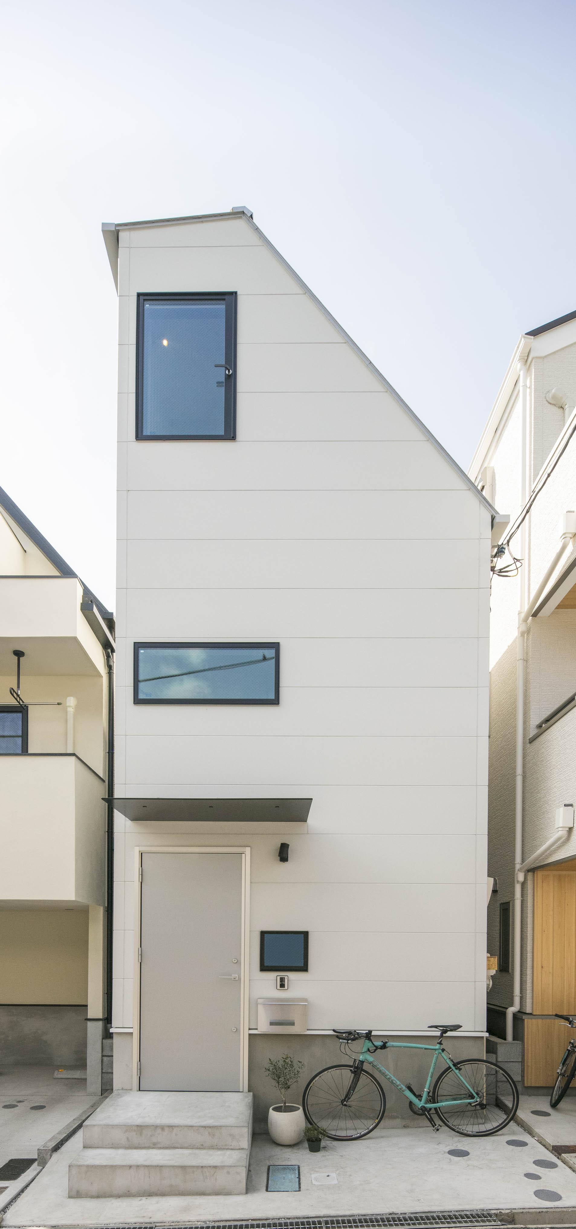 狭小住宅の屋根
