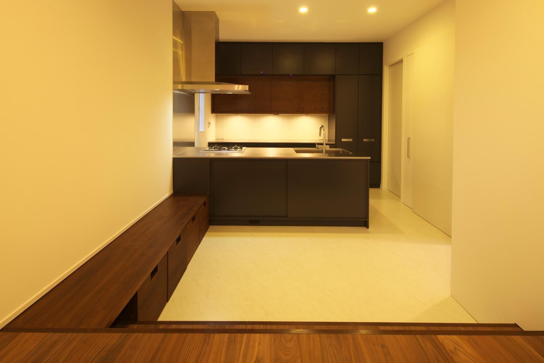 狭小住宅,東京,キッチン