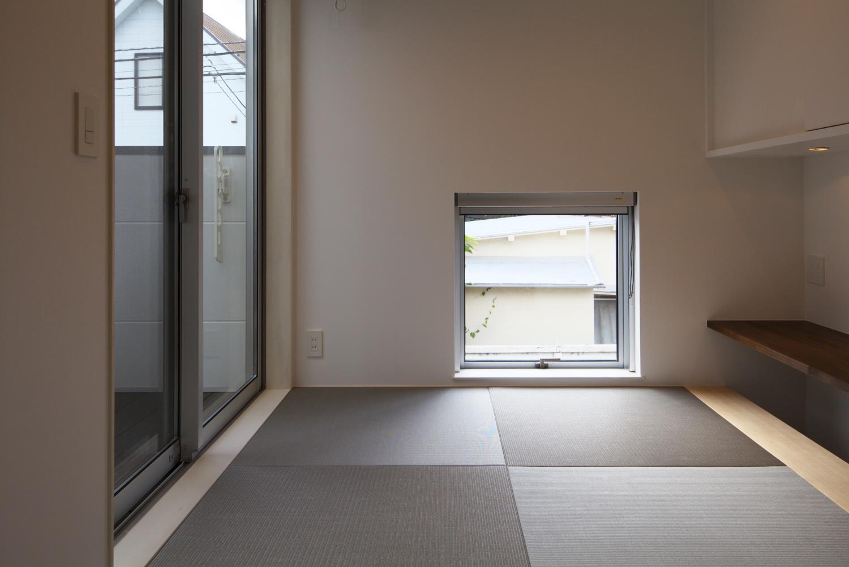 狭小住宅,東京,中庭,和室
