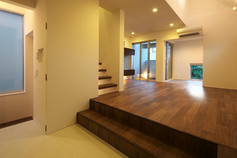 狭小住宅,東京,スキップフロア