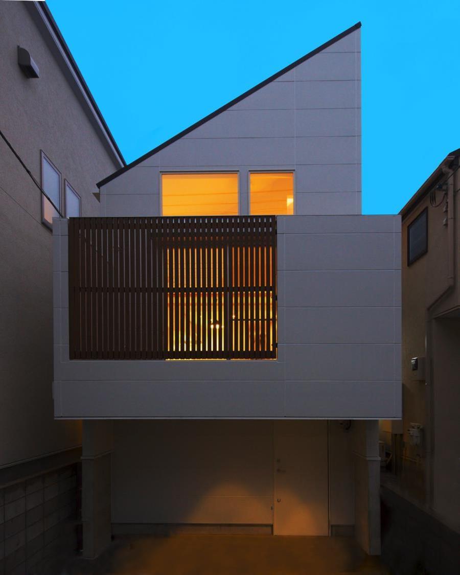 東京,狭小地,狭小住宅,変形地,段差敷地