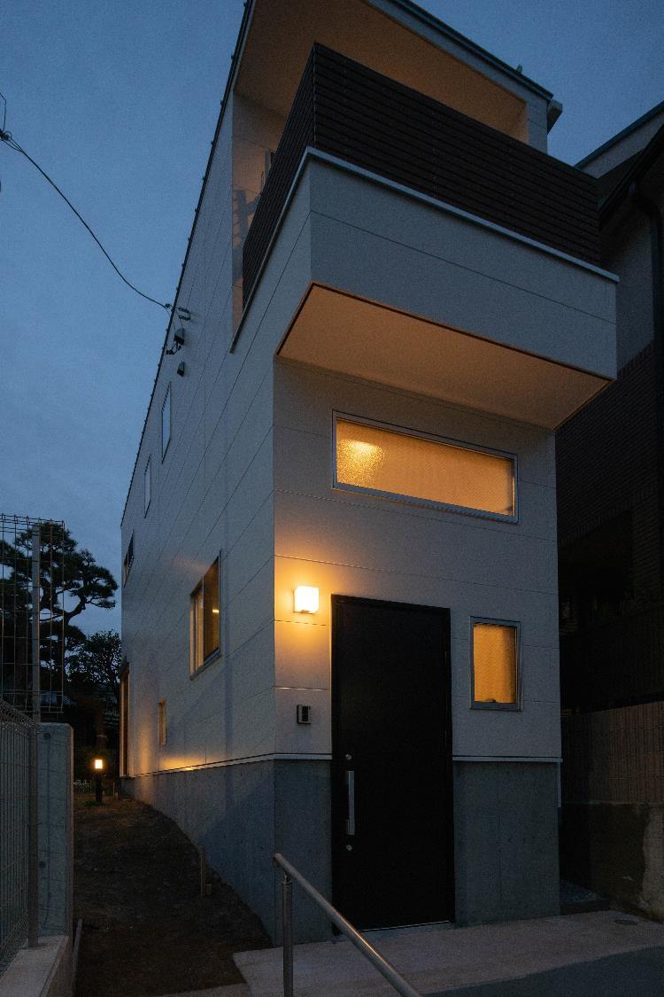 東京,耐震性,狭小住宅,三階建て,注文住宅,SE構法