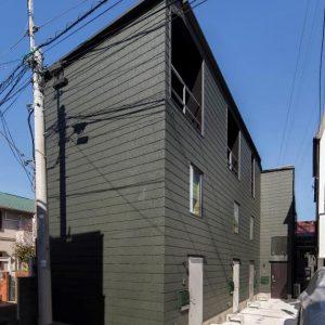 狭小地での集合住宅 ~メゾネット型による上下階のつながり~