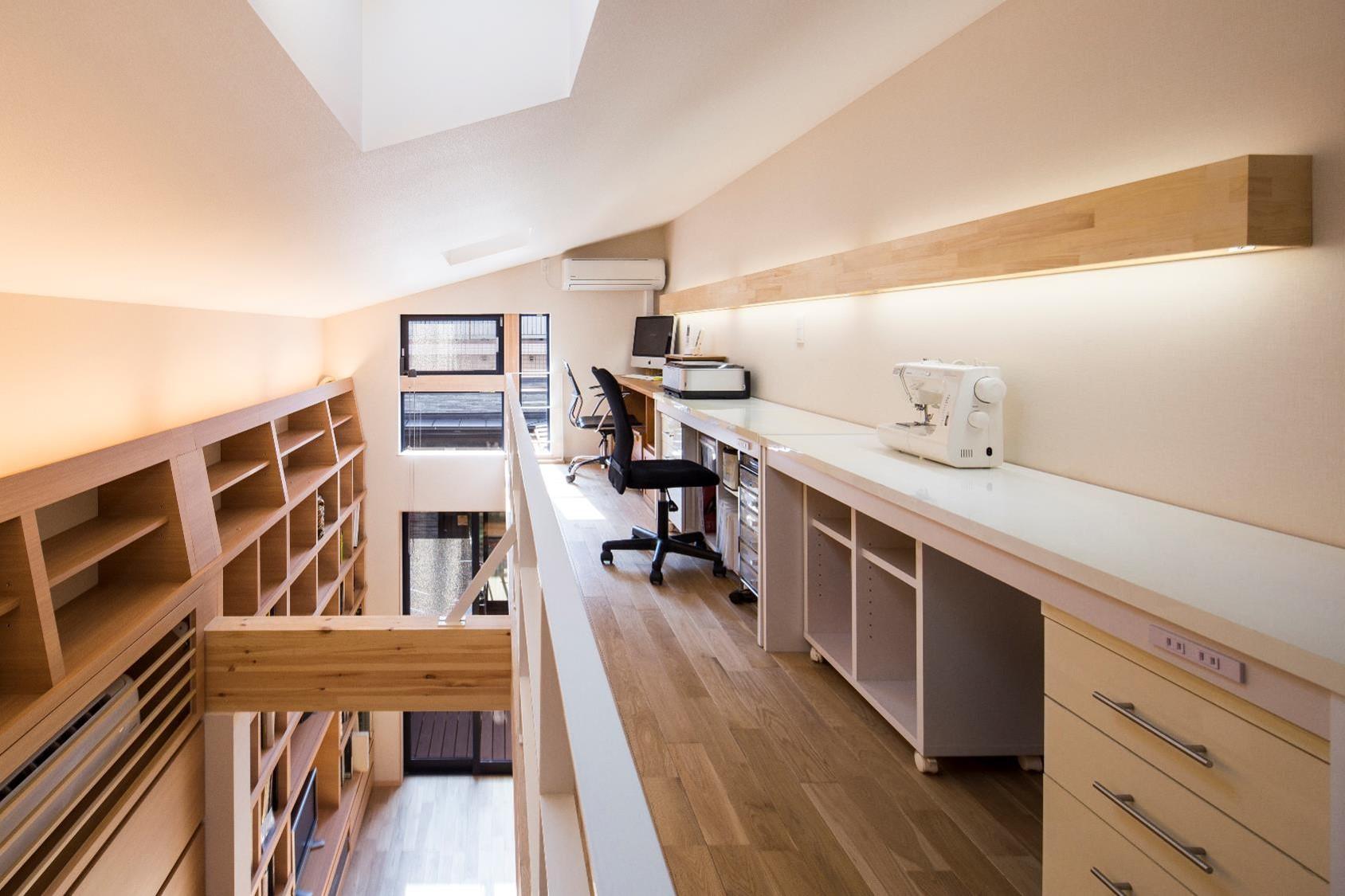 狭小住宅,東京,ロフト