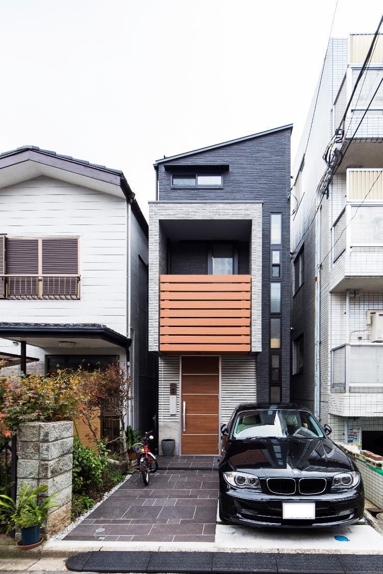 狭小住宅,東京,中庭