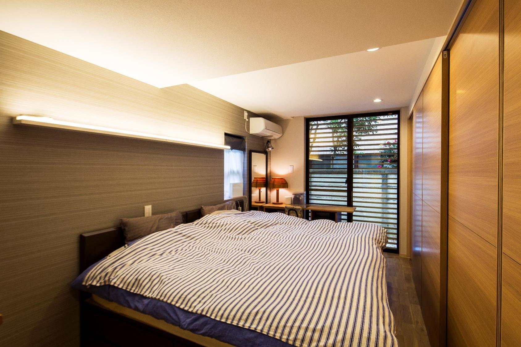 狭小住宅,東京,寝室